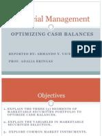 Optimizing Cash Balances