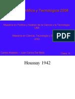 2 - Pol CyT - Clase 6 Houssay