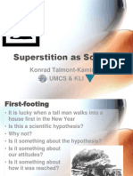 Trond Superstition as Science
