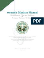 Women's Ministry Manuel