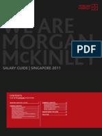 Singapore Salary Guide 2011