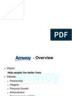 Amway Presentation - Introduction + Market Cap