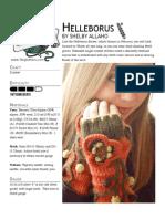 Helleborus Mitts Crochet