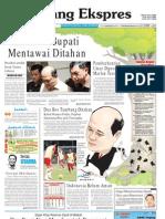 Koran Padang Ekspres | Kamis, 17 November 2011.