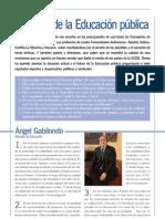 Temas-El futuro de la educación pública