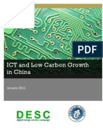 ICT LowCarbon Growth China