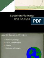 6 Location Planning