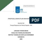 Iseng2 Proposal Bisnis Plan Its