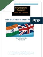 Indo UK Trade Analysis