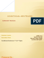 Presentation 1 Conditional Sentences Type 1-2