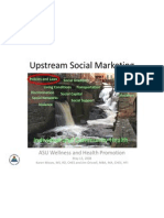 Upstream Social Marketing - Sources Stated