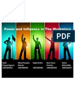 Power and Influence at Workplace