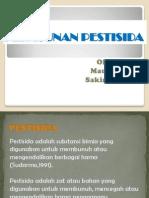 Keracunan Pestisida Ppt