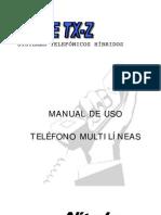 TXZ KTS(Multilinea Nitsuko)