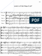 Mozart Horn Quintet K.407 (score)