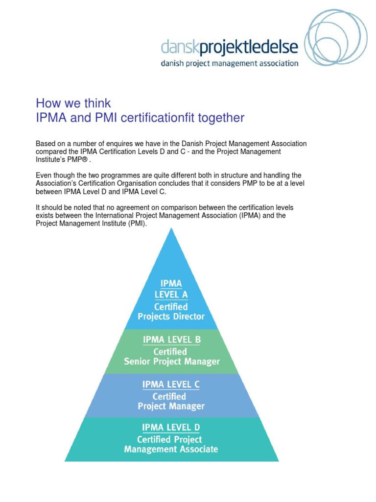 081009 Comparison Of Ipma And Pmp1 Project Management