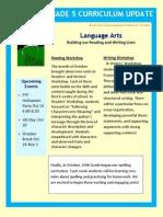 oct curriculum update