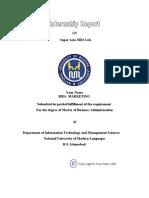 Internship Report on SuperAsia