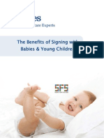 The Benefits of Signing with Babies & Young Children