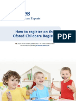 How to register on the Ofsted Childcare Register