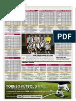 Clasificación Ligas Futbolcity en Superdeporte. 16 Noviembre