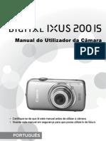 Manual de utilização Canon Ixus 220