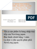 Quang Minh Industrial Machinery Trading Co