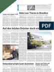"""111116 kölnische rundschau """"Auf den letzten Drücker ein Dorfplatz"""""""