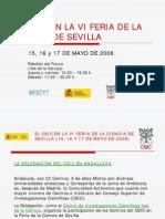 Csic Vi Feria Ciencia Sevilla