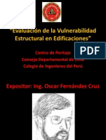 Evaluación de la Vulnerabilidad Sísmica en Edificaciones