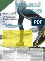 Langlaufcamp mit Olympiasieger Christian Hoffmann