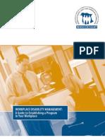 Guide to Establish a Disability Management Program