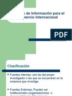 Fuentes de Información Para El Comercio Internacional