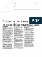 Auction action closes out 2011 as value drives successful sales