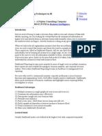 Dashboard Reporting Techniques in BI