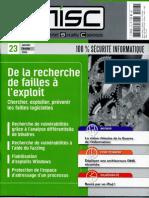 [ebook fr] misc 23 - 100% securite informatique (multisystem & internet security cookbook hakin9) [by ur]