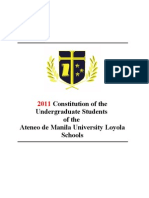 Proposed 2011 Constitution for Constitutional Review