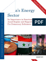 Initial Findings Syrias Energy Sector