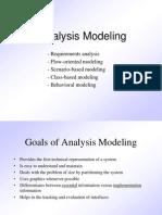 Analysis Modelling