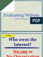 Evaluating Website