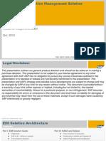 EIM Solution Architecture - Product Portfolio - Part IV of IV