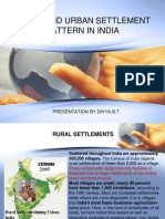 Rural and Urban Settlement Patterns in India