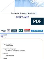 DBA Corpppt Mainframes Intro