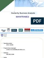 DBA Corpppt Mainframes Intro II