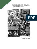 Rukopisno Pismo Renesanse