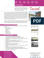 Access Control and Monitoring Flier