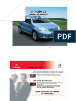 C3 Citroen Manual de Empleo