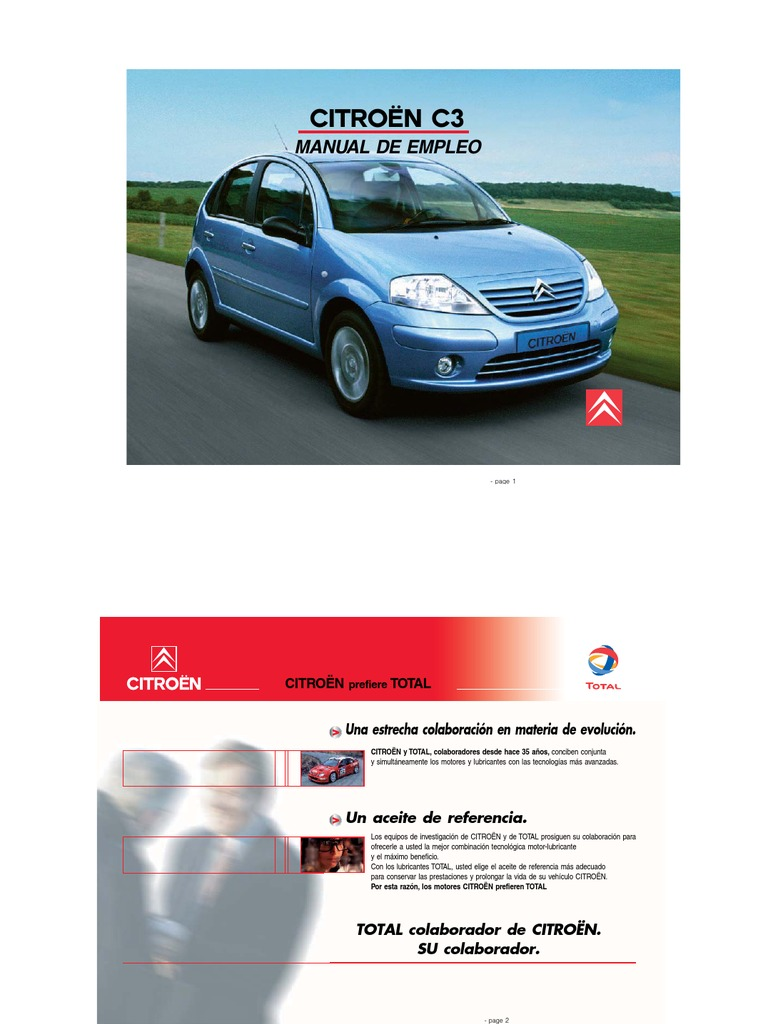 c3 citroen manual de empleo Manual Para Trastero Manual De Instalacao Pantair Br20