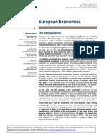 Evropská ekonomika v roce 2012 poklesne (dokument v AJ)