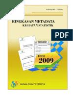 Met a Data 2009